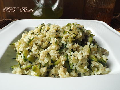 Bulgur con zucchine