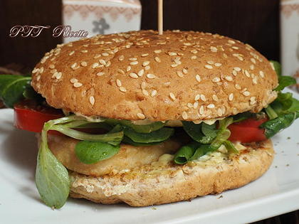 Burger vegetale ricco