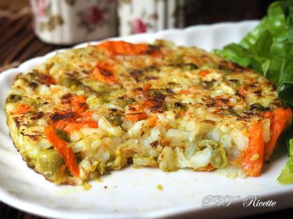 Burger vegetali di riso e ortaggi
