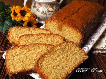 Cake al semolino e miele