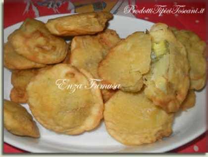 Carciofi in pastella (frittelle)