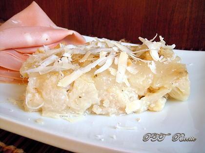 Cavolfiore gratinato alle cipolle