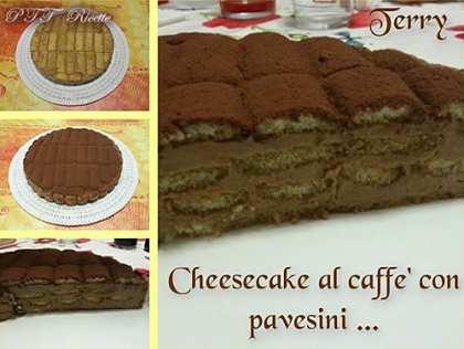 Cheesecake al caffè con Pavesini