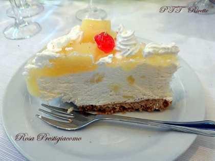 Cheesecake all'ananas goloso
