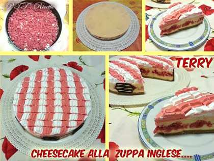 Cheesecake alla zuppa inglese