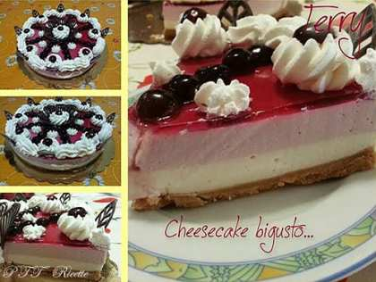 Cheesecake bigusto all'amarena