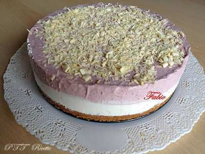 Cheesecake bigusto vaniglia e amarene