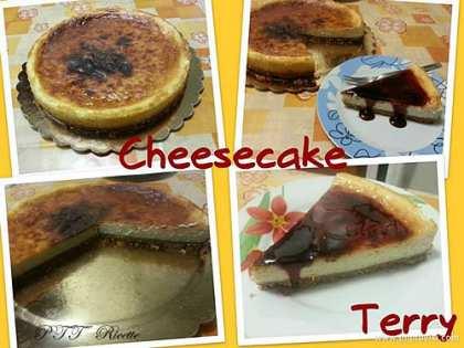Cheesecake con cottura