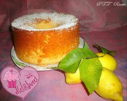 Chiffon cake con limoni della costiera amalfitana
