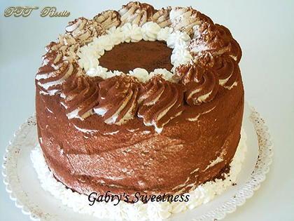 Chiffon cake tiramisù
