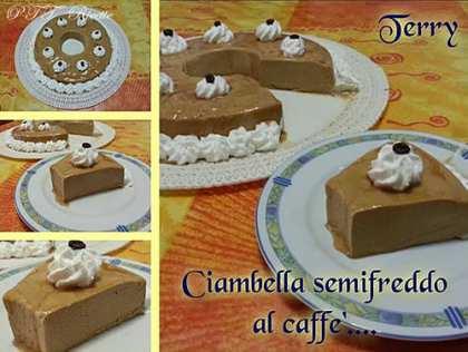 Ciambella semifreddo al caffè