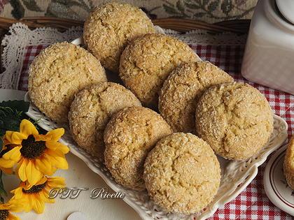 Cookies al cocco senza burro