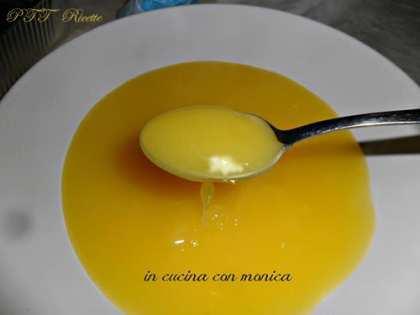Crema al limone senza latte