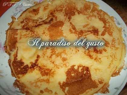 Crêpes dolci (ricetta base)