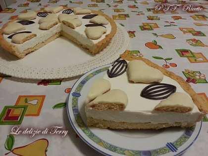 Crostata cheesecake
