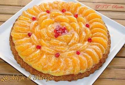 Crostata di clementine