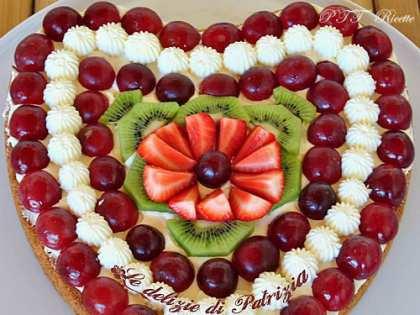 Crostata frutta e chantilly