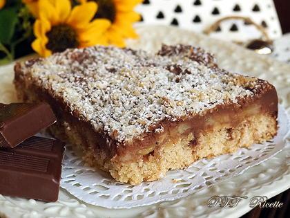 Crostata senza glutine con cioccolato