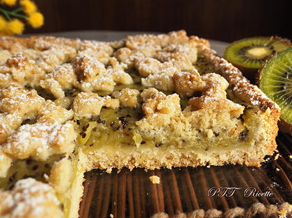 Crostata senza zucchero con kiwi
