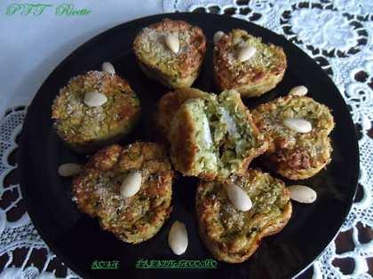 Cuori di zucchine con ripieno di ricotta