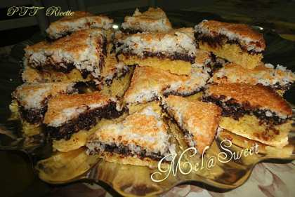 Mutalatet, Dolci con cocco e cioccolato fondente