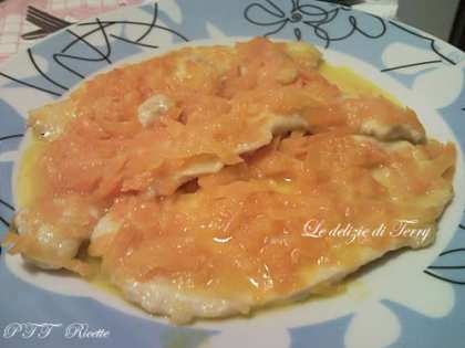 Filetto di pollo in agrodolce