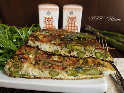 Frittata di asparagi light