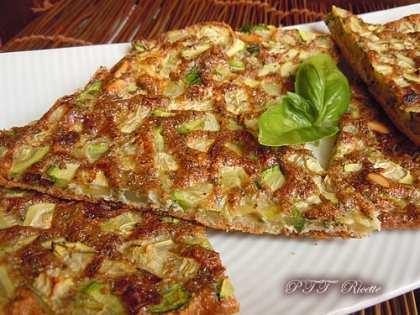 Frittata piccante con zucchine al forno