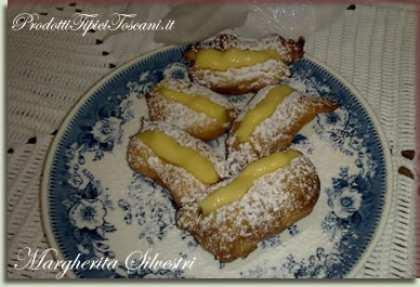 Frittelle con crema pasticcera