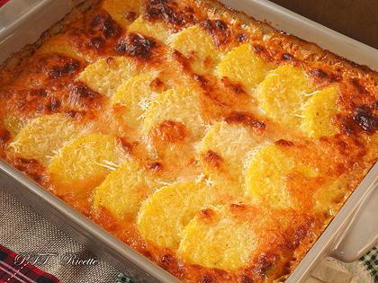 Gnocchi di polenta con zucca e provola