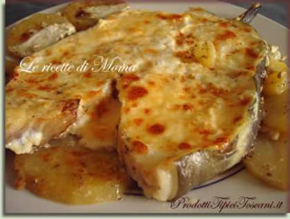 Grongo con patate