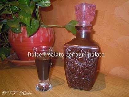 Liquore goloso al cioccolato
