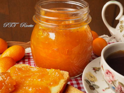 Marmellata di mandarini cinesi Kumquat