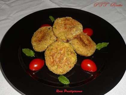 Medaglioni di pollo e zucchine