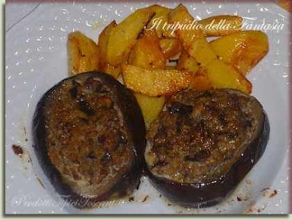 Melanzane al forno con patate