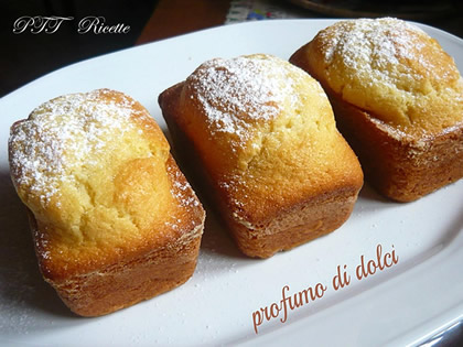 Mini cake allo yogurt