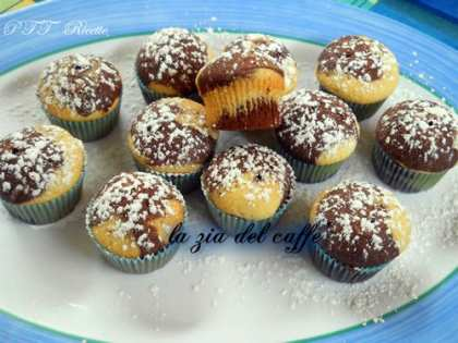 Mini muffin al cioccolato