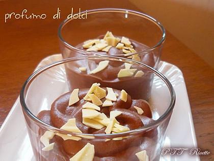 Mousse al cioccolato senza uova