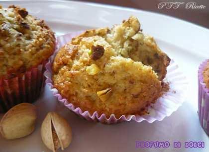 Muffin al cocco e pistacchio
