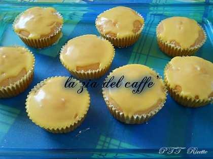 Muffin al limone con glassa