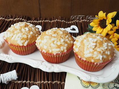 Muffin al limone e uvetta