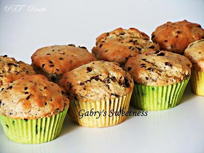 Muffin all'olio e cioccolato