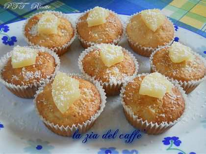 Muffin alla Pina Colada