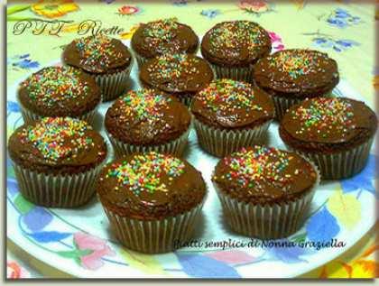 Muffin Nesquik e Nutella
