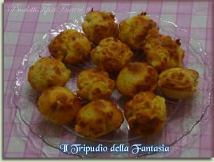 Muffin salati al prosciutto cotto e formaggio