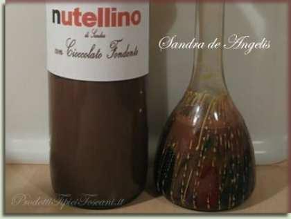 Nutellino con cioccolato fondente - Liquore fatto in casa