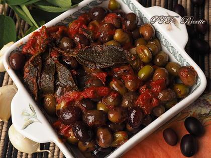 Olive da olio al sugo