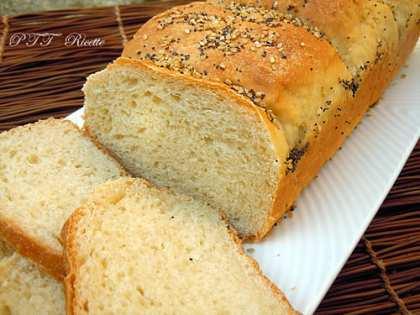 Pan bauletto con ricotta (senza burro e senza uova)