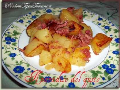 Patate al forno con Simmenthal
