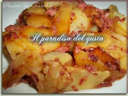 Patate fritte con Simmenthal